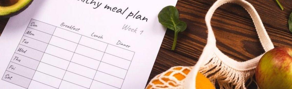 10 consejos para hacer tu menu saludable